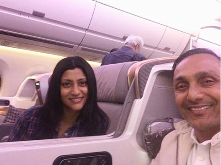 Rahul Bose and Konkona Sen Sharma flying off to Melbourne