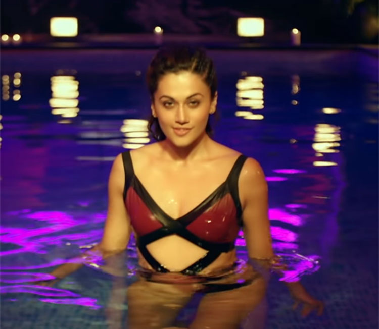 Taapsee Pannu is burning the screens with Judwaa 2 trailer