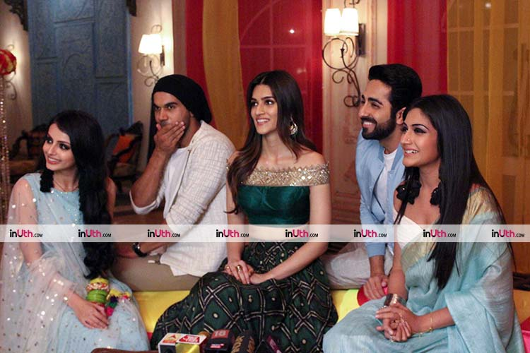Bareilly Ki Barfi promotions on the sets of Ishqbaaz