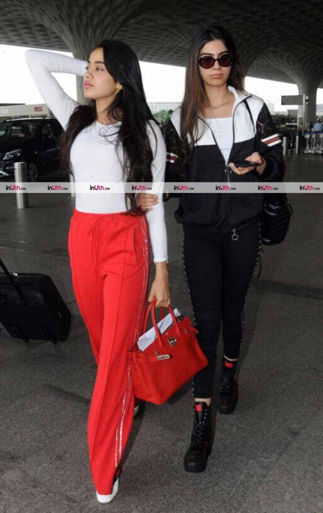Jhanvi and Khushi Kapoor killing it on the airport