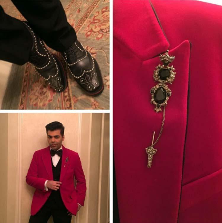 Karan Johar has got class carved on his shoes