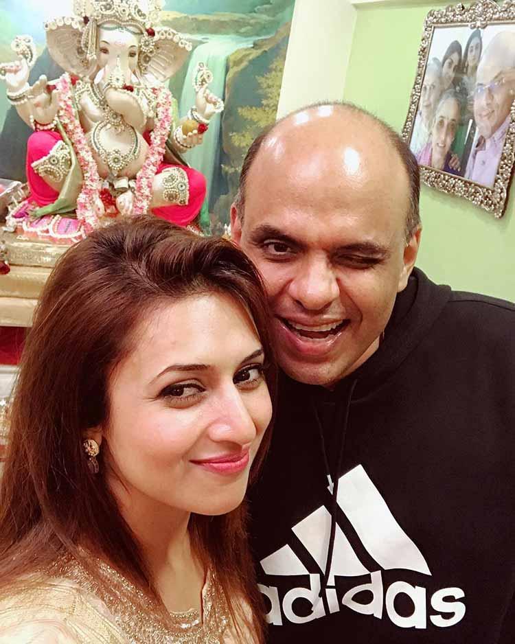 Sandiip Sikcand with Divyanka Tripathi