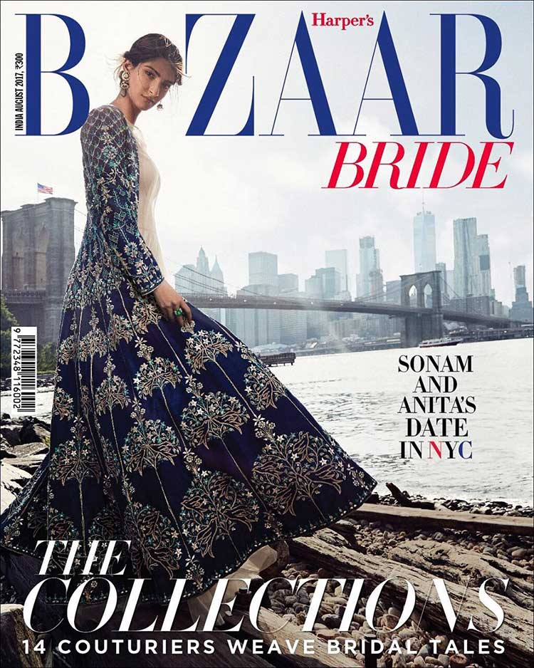 Sonam Kapoor looks magical in this Harper's Bazaar Bride photoshoot