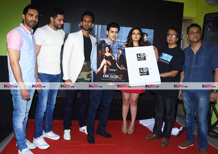 Team Aksar 2 at the launch of the second trailer