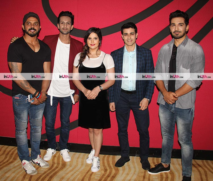 Team Aksar 2 at the trailer launch event