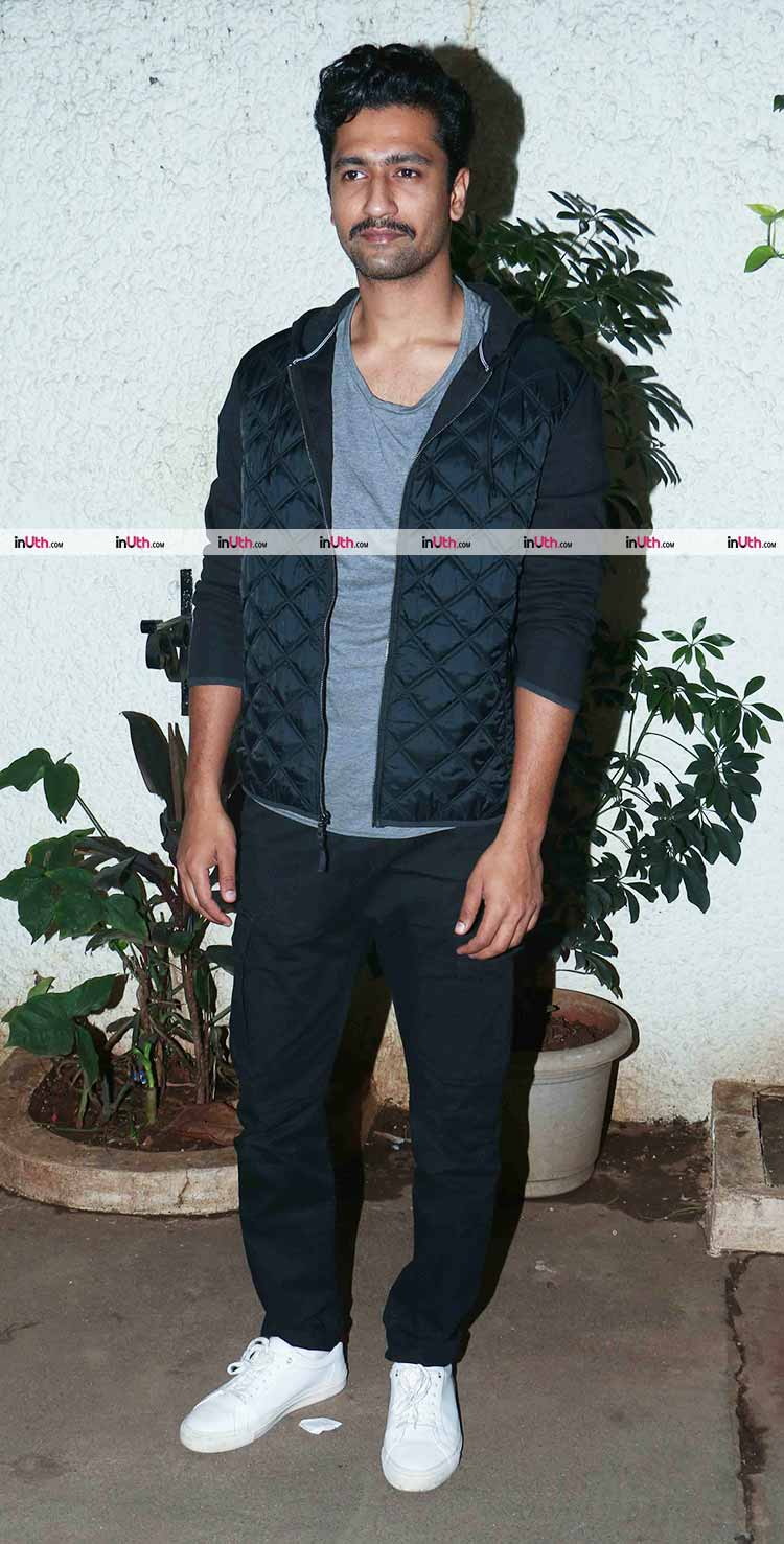 Vicky Kaushal at the special screening of Bareilly Ki Barfi