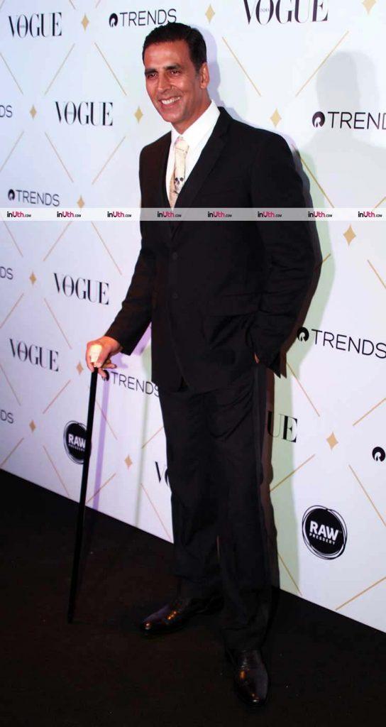 Akshay Kumar at the Vogue Beauty Awards 2017