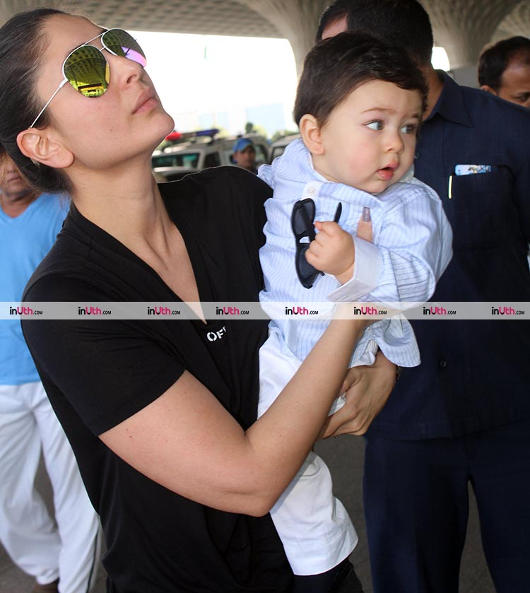 Kareena Kapoor and Taimur form the cutest mother-son pair