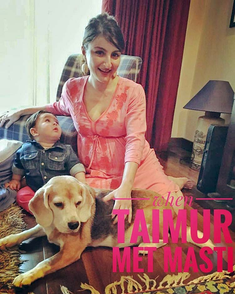 Soha Ali Khan's favourite photo from her baby shower