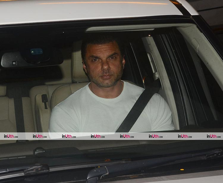 Sohil Khan at Ritesh Sidhwani's birthday party