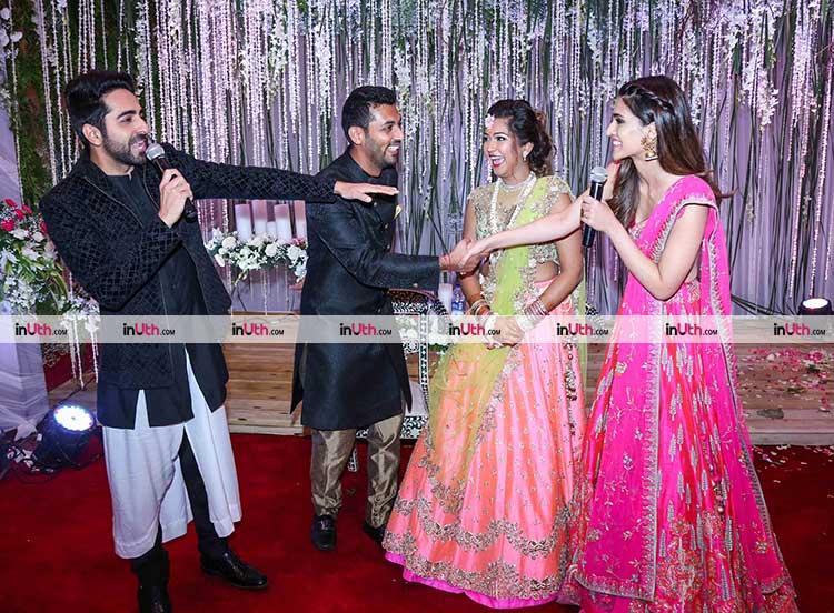 Ayushmann Khurrana, Kriti Sanon at Bareilly Ki Barfi promotions in Mumbai