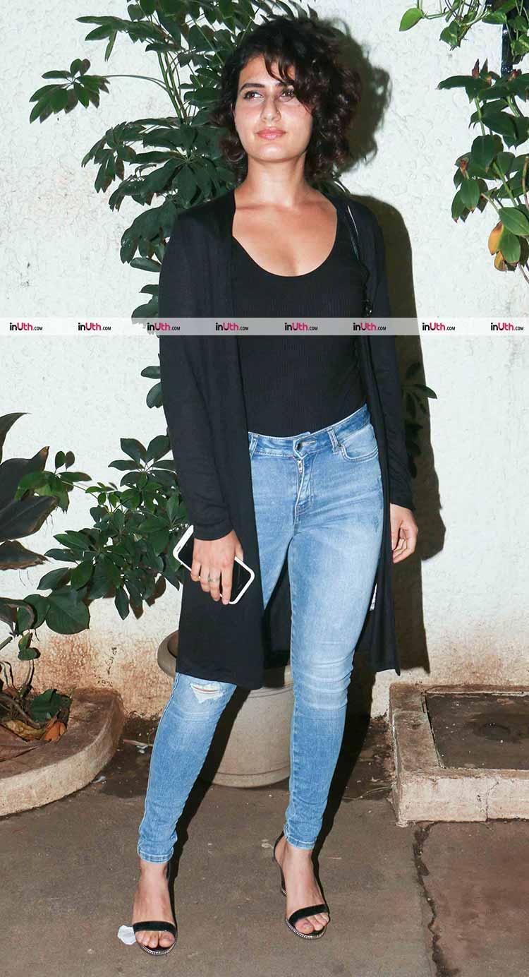 Fatima Sana Shaikh at the special screening of Bareilly Ki Barfi