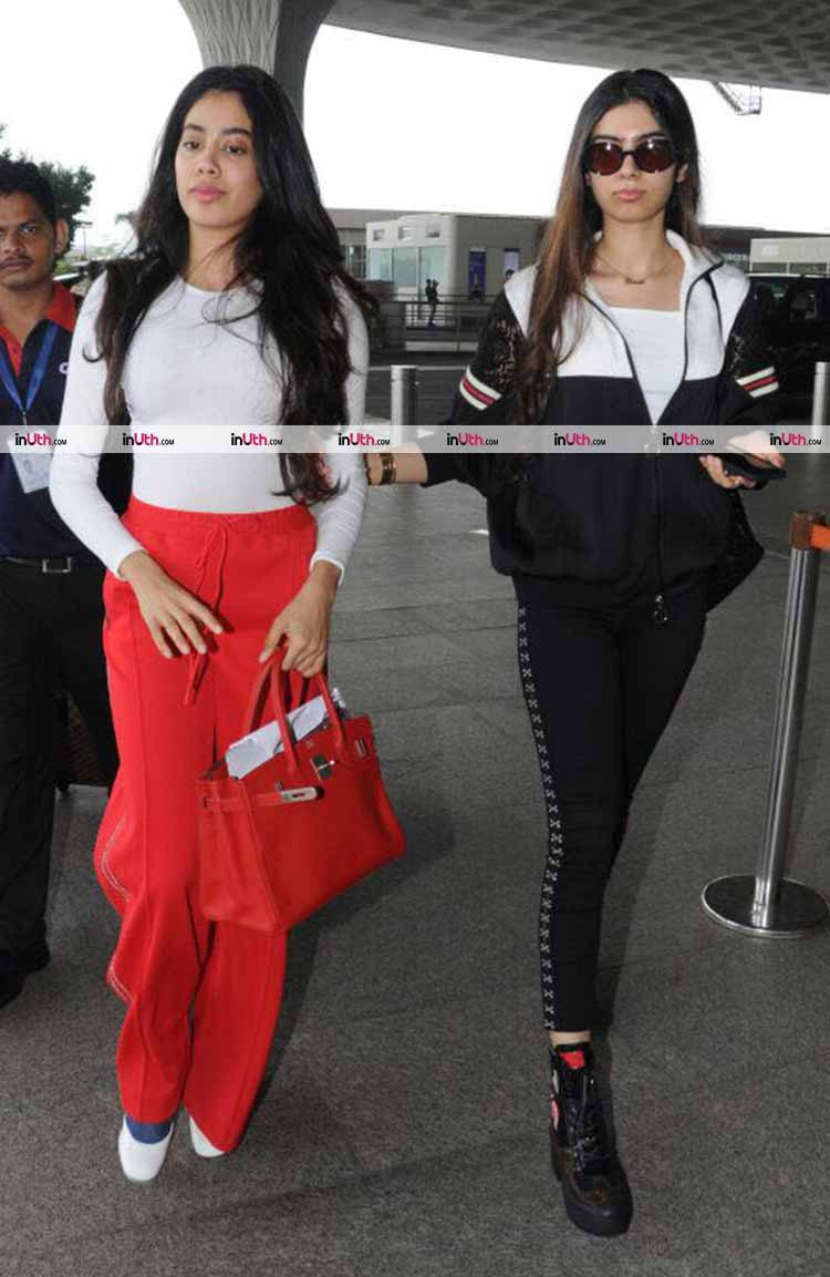 Jhanvi Kapoor's amazing airport style is hot