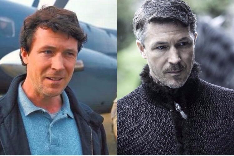 Aidan Gillen, Petyr Baelish, Littlefinger, Game of Thrones, Actors, Before After