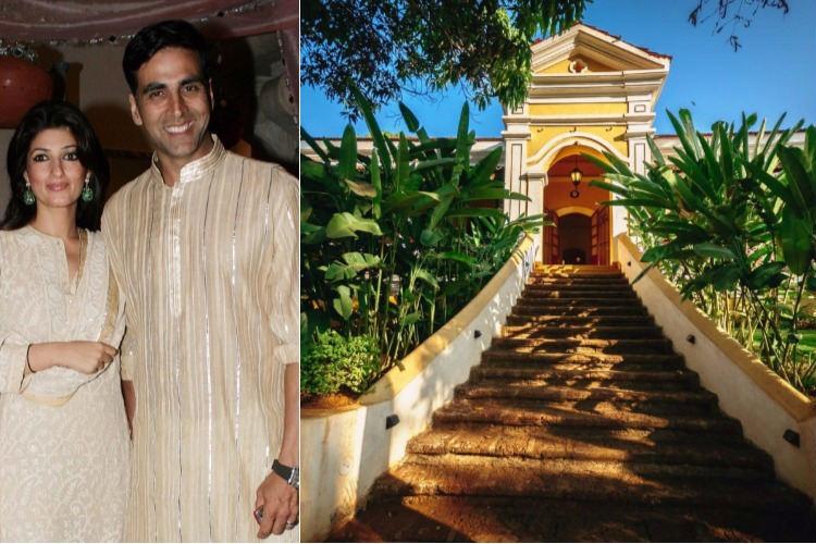 Akshay Kumar and Twinkle Khanna own a Portugal heritage villa on Anjuna Beach