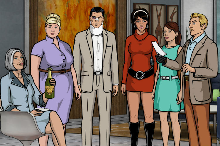 Archer, Adult Animated Shows