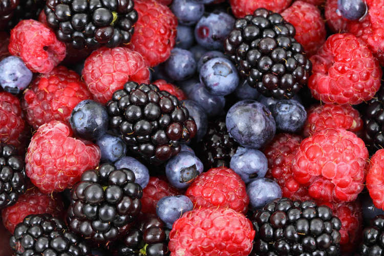 Berries, food