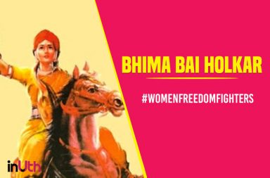 women freedom fighter Bhimabai-Holkar