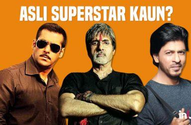 Bollywood Superstar, Salman Khan, Amitabh Bachchan, Shah Rukh Khan