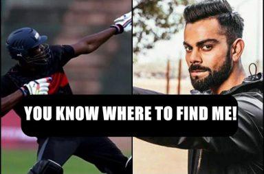 Virat Kohli, Usain Bolt, Usain Bolt last race, Virat Kohli Twitter