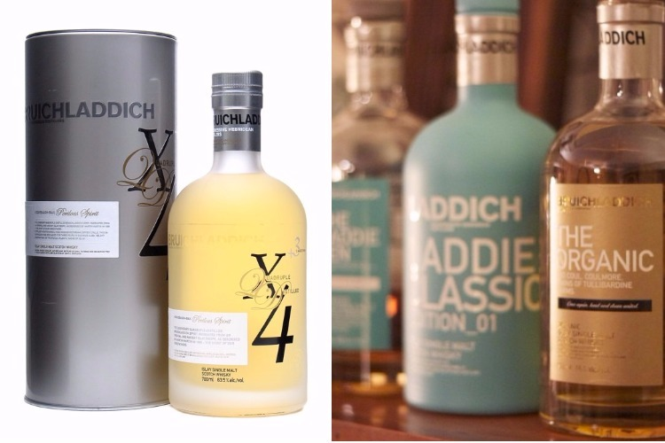 Bruichladdich X4 Quadrupled Whiskey