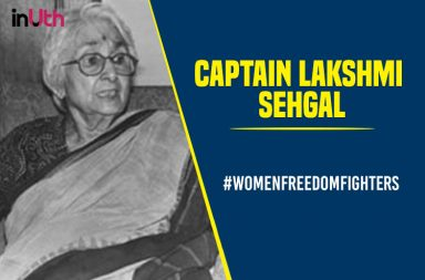 Captain Lakshmi Sehgal, women freedom fighters