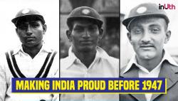 Three Indian cricketers who scored centuries in Tests against England before 1947!