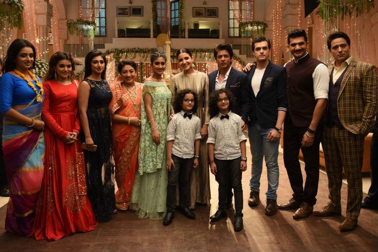 Shah Rukh Khan, Anushka Sharma, Yeh Rishta Kya Kehlata Hai
