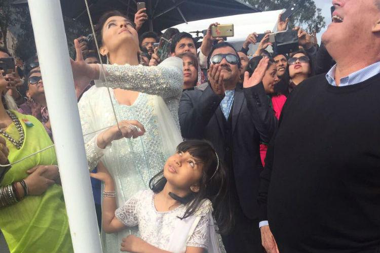 Aishwarya Rai celebrates Independence Day (Courtesy-Twitter)