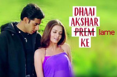 Dhaai Akshar Prem Ke, Abhishek Bachchan, Aishwarya Rai