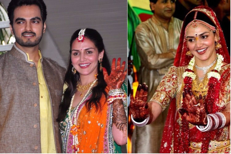 Esha Deol ties knot for the second time