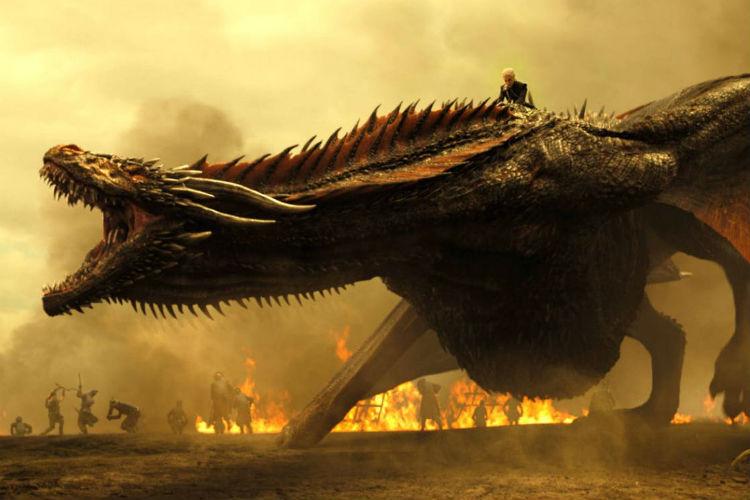 Game of Thrones, Season 7, Daenerys, drogon