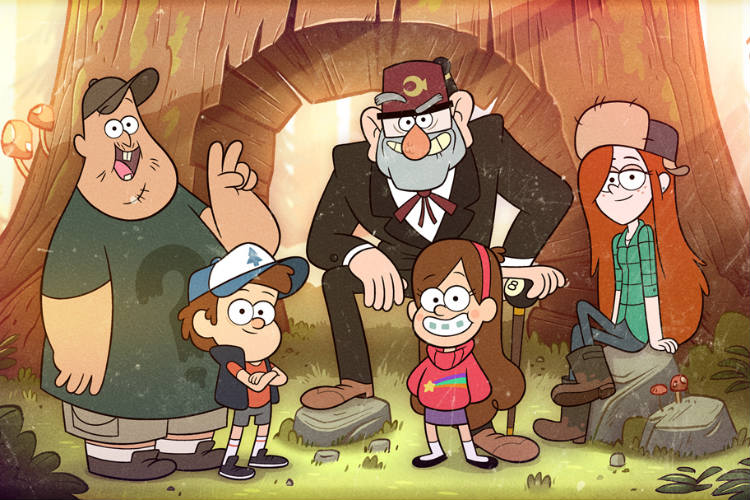 Gravity Falls, Adult Animated Shows