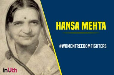 Hansa Mehta, female freedom fighters image for inuth