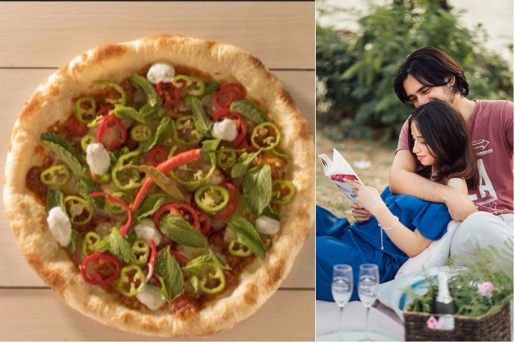Jamie's Pizzeria, food