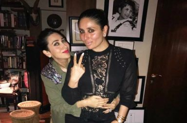 Kareena Kapoor Khan with Karisma Kapoor