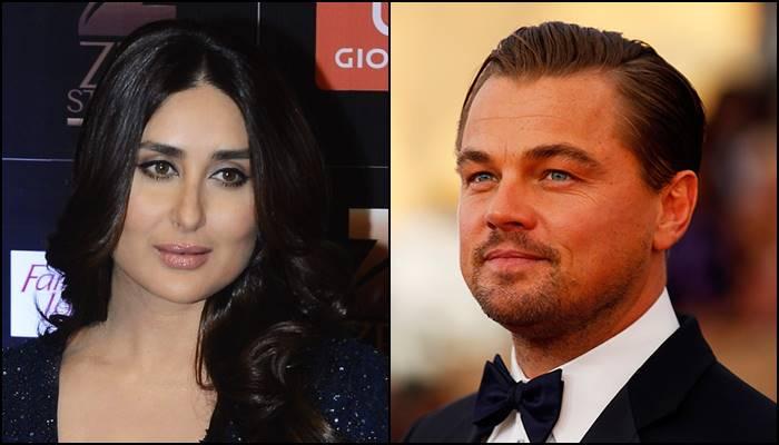Kareena Kapoor and Leonardo DiCaprio