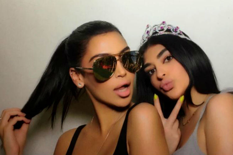 Kim Kardashian, Kylie Jenner, Look Alike, Sonia Ali, Fyza Ali