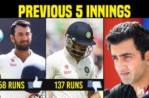 Gautam Gambhir, Virat Kohli, Cheteshwar Pujara, India vs Sri Lanka