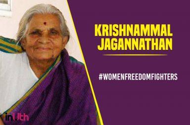 Krishnamma Jagannathan, women freedom fighters