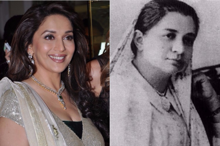 Madhuri Dixit Madam, Bhikaji Cama, Bollywood Actress, Women Freedom Fighter