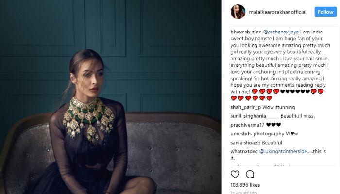 Malaika Arora Khan Instagram post