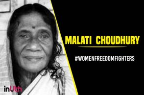 Malati--Choudhury women freedom fighter