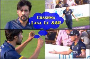 Mohammad Amir, Paul Walter, Essex vs Sussex, Pakistani cricketers fight