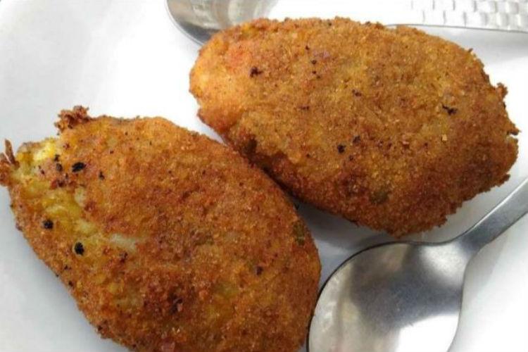 Mutton Cutlet, food
