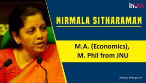 Nirmala-Sitharaman JNU student