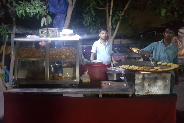 street food in Noida