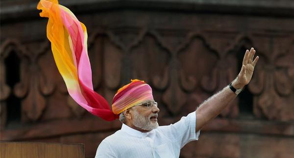 PM Modi 2016 I-day