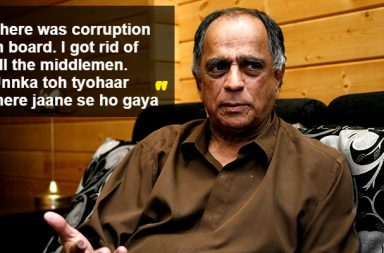 Pahlaj Nihalani, Censor Board, statements