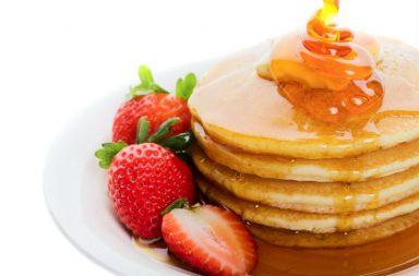 Pancakes, food